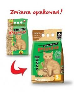 Super Pinio 10l, żwirek drewniany dla królików