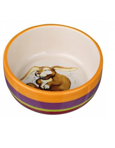 Miska ceramiczna z motywem królika 250ml, Trixie [ 60803]