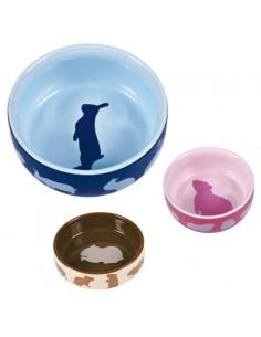 Miska ceramiczna dla królika z motywem 250ml, Trixie [60733]