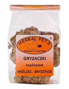 Gryzaczki melisowe 140g, Herbal Pets