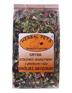 Grysik ziołowo-warzywny z płatkami róży, Herbal Pets