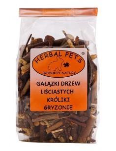 Gałązki drzew liściastych 75g, Herbal Pets